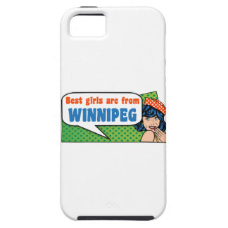 Best girls are from Winnipeg iPhone 5 Cases