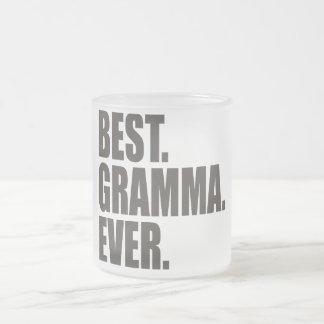 Best. Gramma. Ever. Frosted Glass Mug