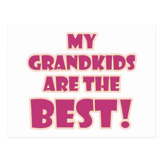 Best Grandkids Postcard
