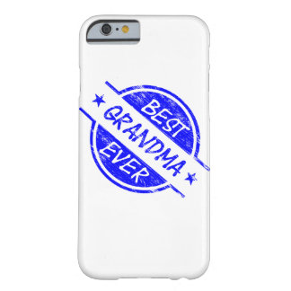 Best Grandma Ever Blue Barely There iPhone 6 Case