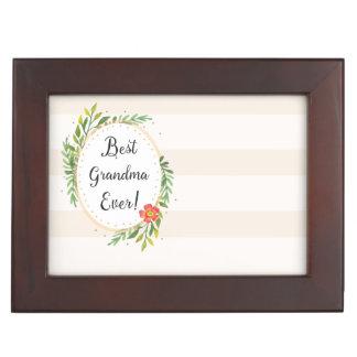 Best Grandma Ever Keepsake Box