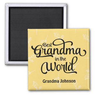 Best Grandma in the World Magnet