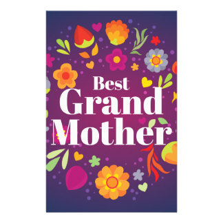 Best Grandmother Stationery