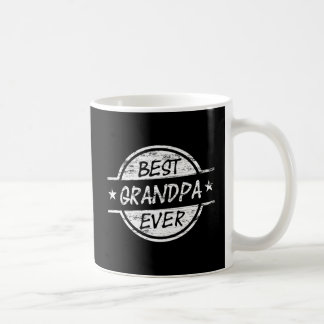 Best Grandpa Ever White Coffee Mug