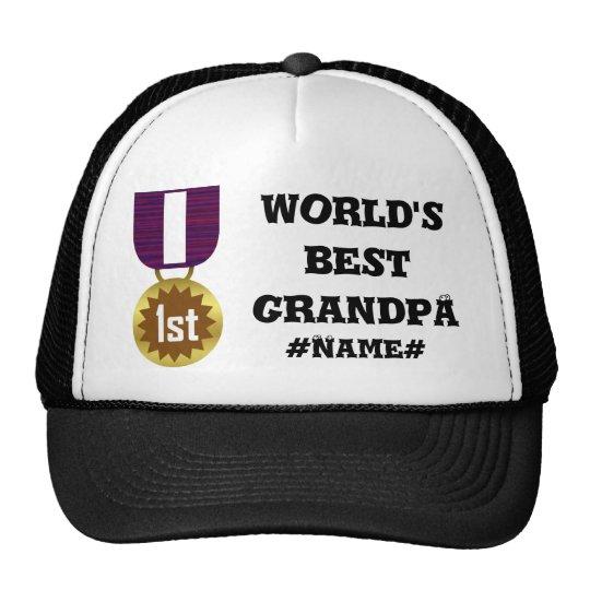 Best Grandpa Trucker Hat