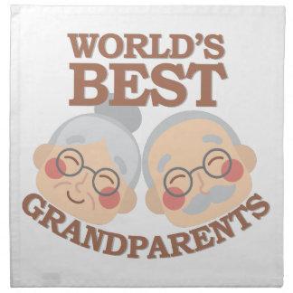 Best Grandparents Cloth Napkin