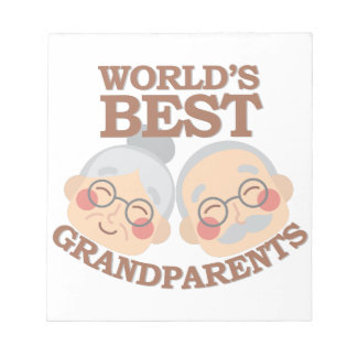 Best Grandparents Notepads