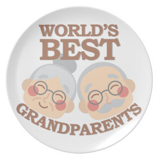 Best Grandparents Plate