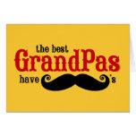 Best Grandpas Have Moustaches Card