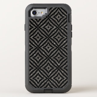 Best Gray  Glitter Custom OtterBox  iPhone 8/7