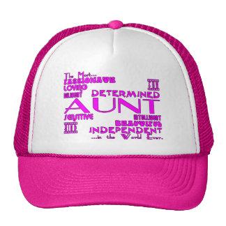 Best Greastest Aunties Aunts Qualities Mesh Hats