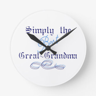 Best Great Grandma Wall Clock