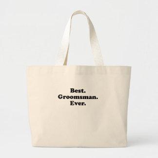 Best Groomsman Ever Canvas Bag