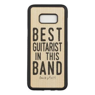 Best Guitarist (maybe) (blk) Carved Samsung Galaxy S8+ Case