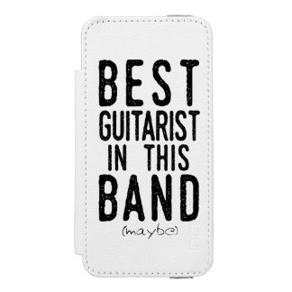 Best Guitarist (maybe) (blk) Incipio Watson™ iPhone 5 Wallet Case