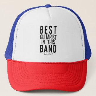 Best Guitarist (maybe) (blk) Trucker Hat