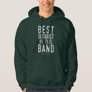 Best Guitarist (maybe) (wht) Hoodie