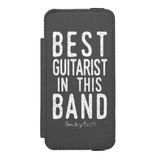 Best Guitarist (maybe) (wht) Incipio Watson™ iPhone 5 Wallet Case