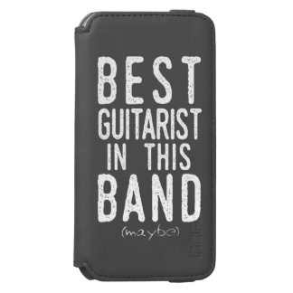 Best Guitarist (maybe) (wht) Incipio Watson™ iPhone 6 Wallet Case