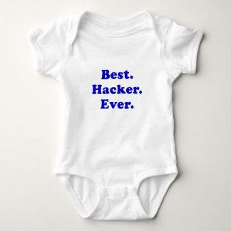 Best Hacker Ever Baby Bodysuit