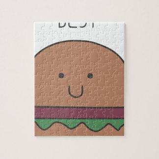 best hamburger jigsaw puzzle