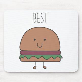 best hamburger mouse pad