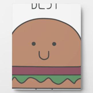 best hamburger plaque