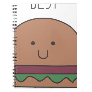 best hamburger spiral notebook