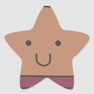 best hamburger star sticker