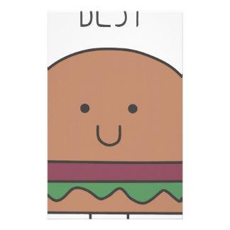 best hamburger stationery