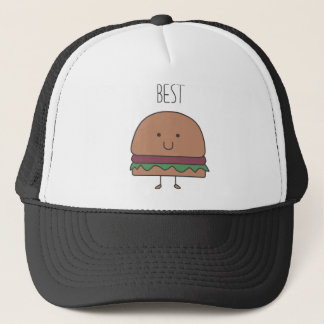 best hamburger trucker hat