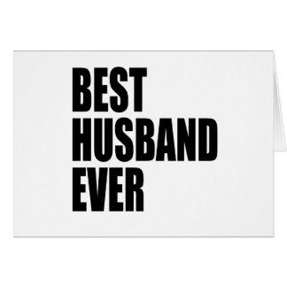 best husband ever card