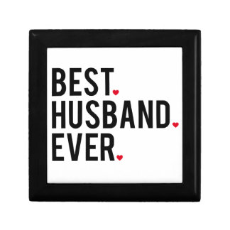 Best husband ever jewelry boxes