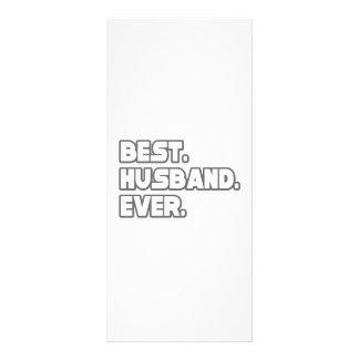 Best Husband Ever Custom Rack Card