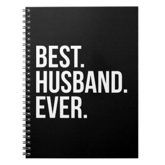 Best Husband Ever Spiral Notebook