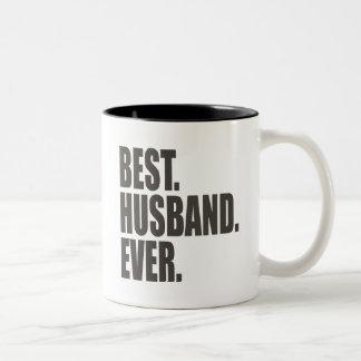Best. Husband. Ever. Two-Tone Mug
