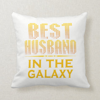 Best Husband In The Galaxy Throw Pillow