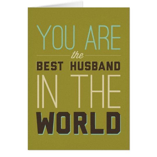 Best Husband [Wife] Card