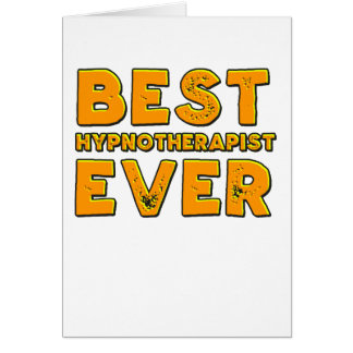 Best hypnotherapist ever card