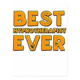 Best hypnotherapist ever postcard