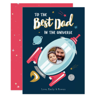 Best in the Universe Father's Day Card