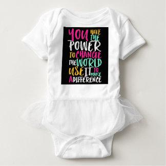 Best Inspirational Quote Baby Bodysuit