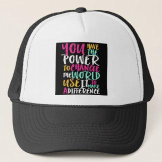 Best Inspirational Quote Trucker Hat