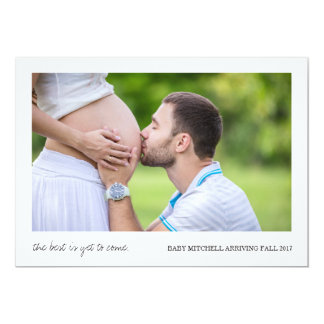 Best Is Yet to Come | Pregnancy Announcement