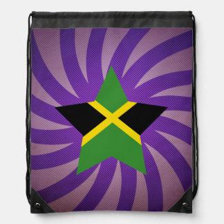 Best Jamaica Flag Design Drawstring Bags