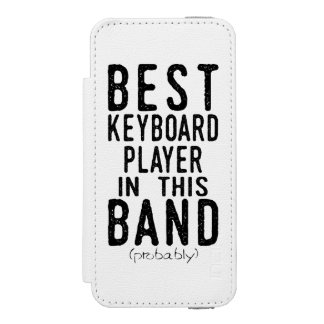 Best Keyboard Player (probably) (blk) Incipio Watson™ iPhone 5 Wallet Case