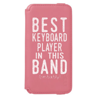 Best Keyboard Player (probably) (blk) Incipio Watson™ iPhone 6 Wallet Case