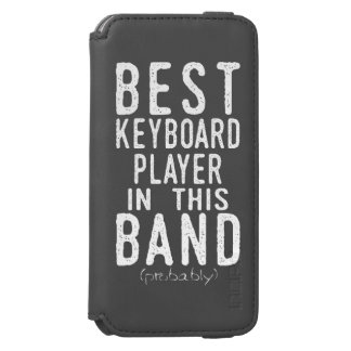 Best Keyboard Player (probably) (wht) Incipio Watson™ iPhone 6 Wallet Case