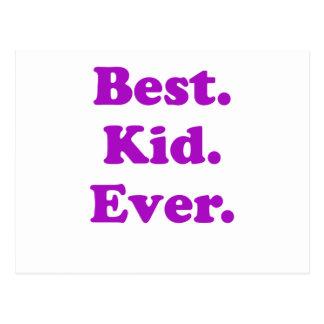 Best Kid Ever Postcard