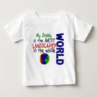 Best Landscaper In World 2 (Daddy) T-shirts